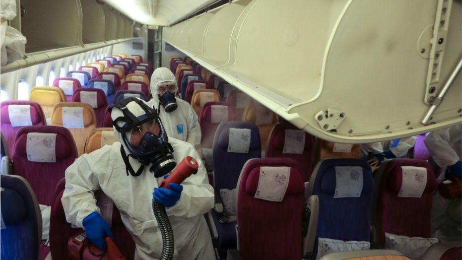 Disinfecting and Antibacterial Fogging