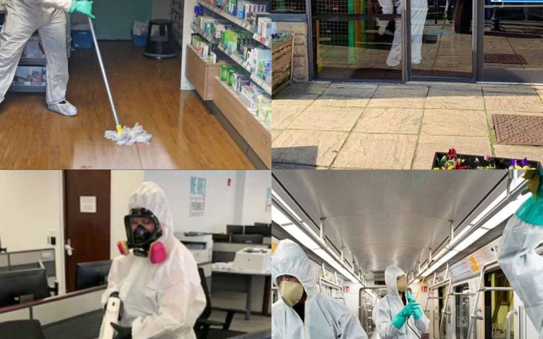 Decontaminating and Disinfecting